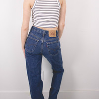 Vintage (SMALL) Levis 517 80s High Waisted Denim Jeans