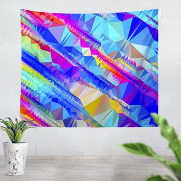 Bright Shapes Tapestry