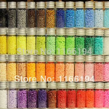 2.6mm Hama Beads~Perler Beads~Fuse Beads Set of 48 Color 23000pcs+3 Template+5 Iron Paper+2 Tweezers,Diy Kids Toy Craft~New Set