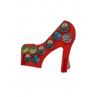 Red High Heel 10 K Cup Dispenser Coffee Keurig tree pod holder dolce gusto