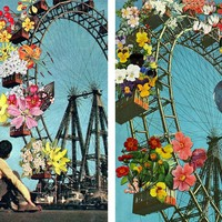 Bloomed Joyride (diptych) by Eugenia Loli