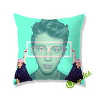 Troye Sivan and Tyler Oakley trxye Square Pillow Cover