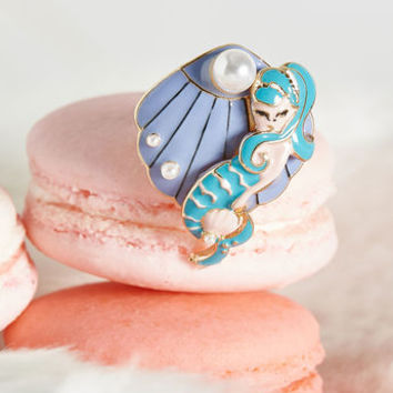 Deep Sea Darling Adjustable Ring