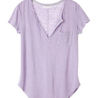 Split-neck Tee - Victoria's Secret