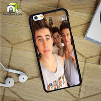Cameron Dallas And Nash Grier Selffie iPhone 6 Case by Avallen