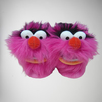 The Muppets Animal Child Slippers