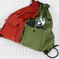 Tyakasha Optometry Color Block Drawstring Bag