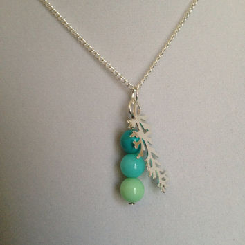 Coral Reef Necklace  by SweetLelani on Etsy