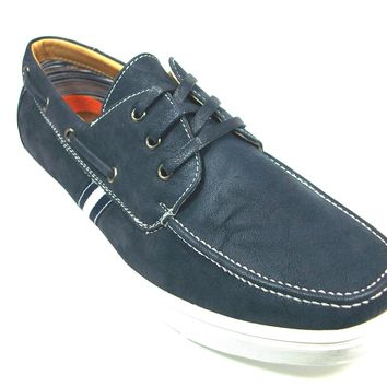 Mens Polar Fox Boat Moccasin Casual Oxfords Shoes 30212 Blue-379