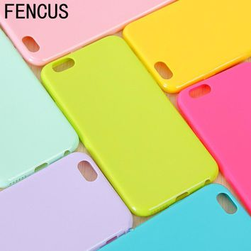 Candy Colors Phone Cases for iPhone