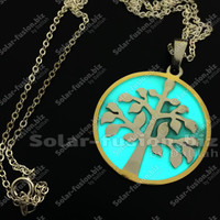 SALE Twilight Magic tree glow in the dark necklace Tree of Life