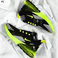 NIKE AIR MAX 270 Tide brand atmospheric pad wild men and women sports shoes