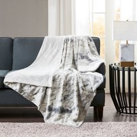 Home Essence Aina Oversized Faux Fur Throw - Walmart.com