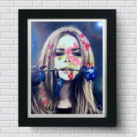 Lana Del Rey Wall Art  | Lisa Jaye Art Designs