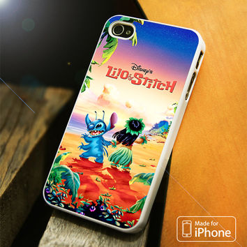 lilo and stitch disney poster iPhone 4(S),5(S),5C,SE,6(S),6(S) Plus Case
