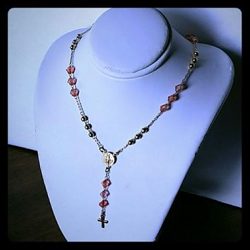 BELISSIMO Rosary Beads Necklace