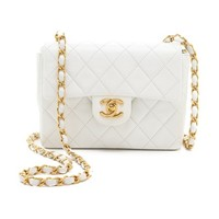 Vintage Chanel Half Flap Mini Bag