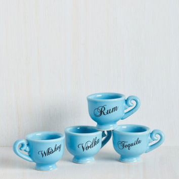 Pinkies Out Shot Glass Set by ModCloth