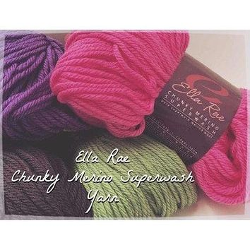 Ella Rae Chunky Merino Superwash Yarn