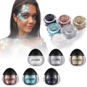 Shimmery Face and Body Glitter Cream