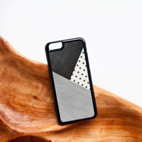 Polka Dot iPhone Case Mint Green Geometric iPhone 6 Case Hello iPhone 5 Case Cream Mint iPhone 5 Case Polka Dot iPhone 5C Case iPhone 6