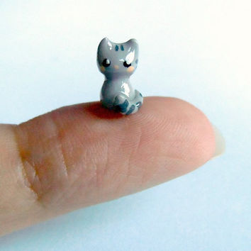 Tiny kitten by MijbilCreatures on Etsy