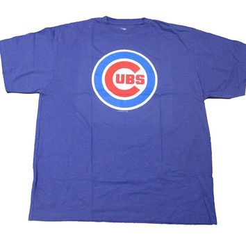 MLB Chicago Cubs Big Logo T-shirt Big and Tall Tee Mens XLT