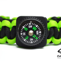 The Navigator Compass Paracord Bracelet
