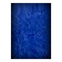 Deep Blue Plaster Photography Backdrop Poster