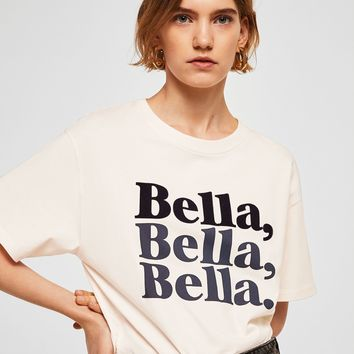 Bella t-shirt - Women | MANGO USA