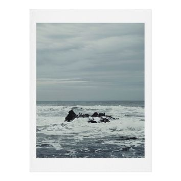 Chelsea Victoria Ocean Rock Crash Art Print