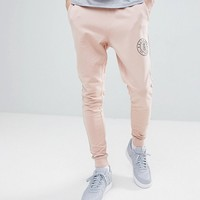 Only & Sons Jogger With Branding at asos.com