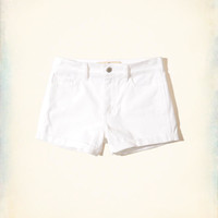 Girls High-Rise Twill Short-Shorts | Girls New Arrivals | HollisterCo.com