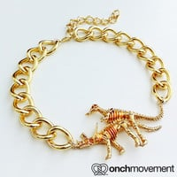 Lucky Bones (14K Gold Plated)