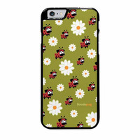 lady pug pattern case for iphone 6 plus 6s plus