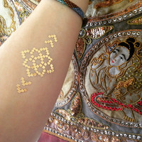 Sacred Symbols Temporary Flash Tattoos