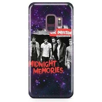 One Direction Lyrics Samsung Galaxy S9 Case | Casefantasy