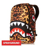 Sprayground Leopard Shark Deluxe Backpack - Multi