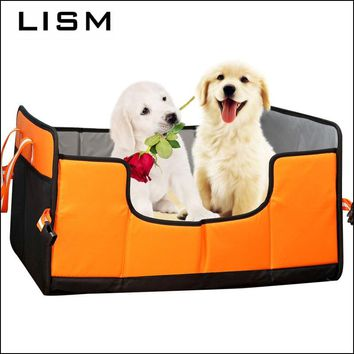 Original Foldable 4 Colors Pet Dog Beds Mats EVA Warm and Comfortable Cat Bed House Blanket for Small Medium Large Dogs Kennel
