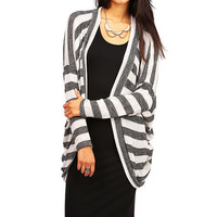 Stripe Rush Cardigan