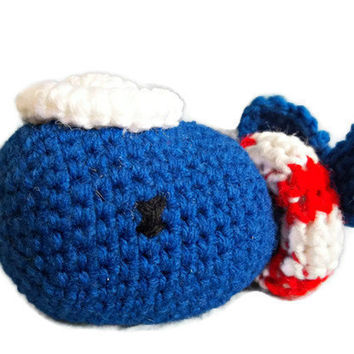 Crochet Whale - Crochet Animal Cute Toy