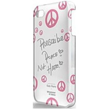 NOB Symtek WUS-I4S-TKP03 Whatever It Takes Katy Perry Case for iPhone 4, 4S - White