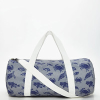 Sea Animal Print Duffle Bag