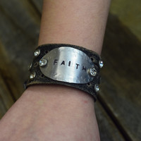 Faith Cuff by Jewelry Junkie