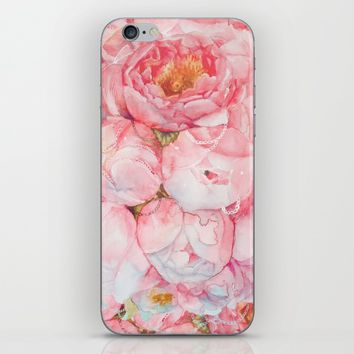 Tender bouquet iPhone & iPod Skin by Kate Tova