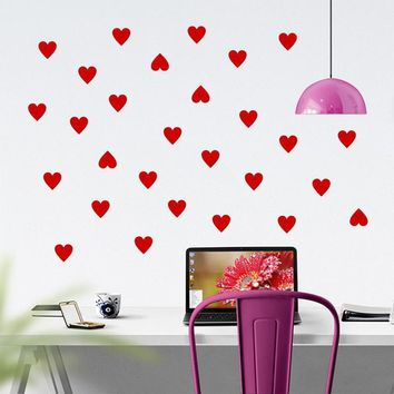 Love Heart Decal Wall Sticker For Kids Living Room