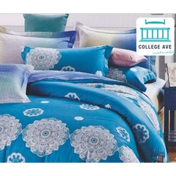 Celestial Calm Dorm Bedding for Girls Twin XL Comforter Extra Long