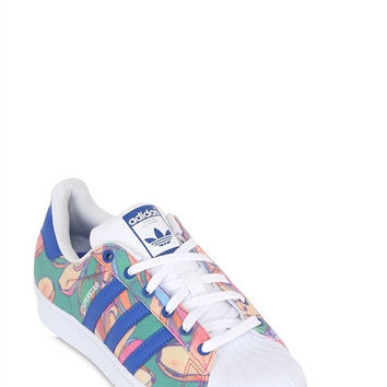 LUISAVIAROMA.COM - ADIDAS ORIGINALS BY FARM - SUPERSTAR FOUNDATION BANANAS SNEAKERS