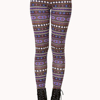 Day Trip Tribal Print Leggings
