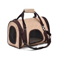 Pet Carrier for Leisure / Eco-friendly Fabric / Breathable